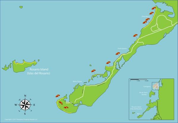 cartagena map 12 Cartagena Map