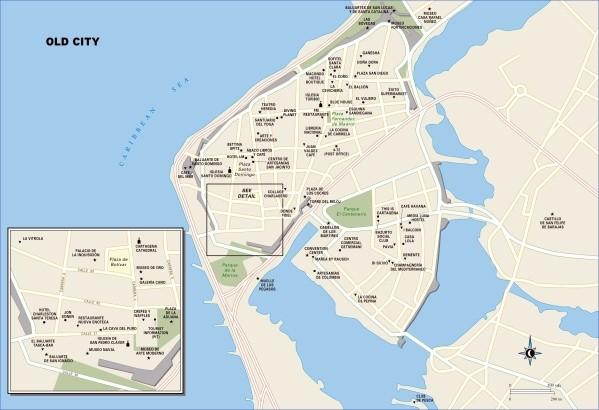 cartagena map 6 Cartagena Map