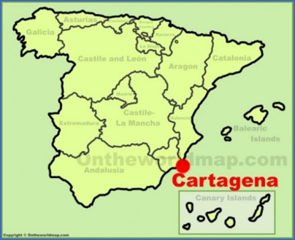 cartagena map 8 Cartagena Map