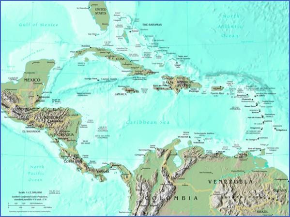 central america map 16 Central America Map