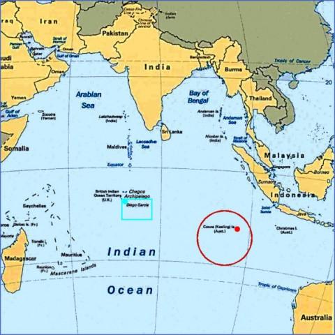 Coco Island Map Cocos Island Map   ToursMaps.®