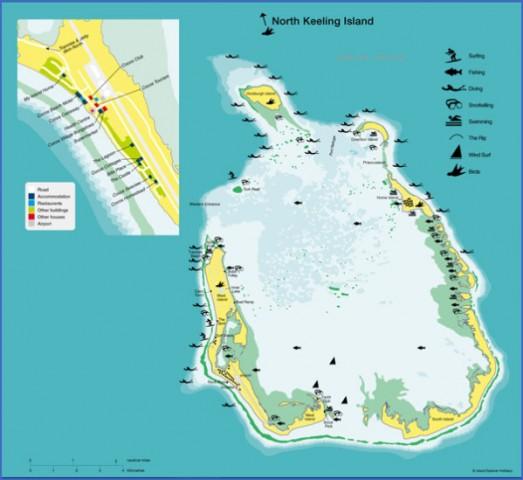 cocos island map 11 Cocos Island Map