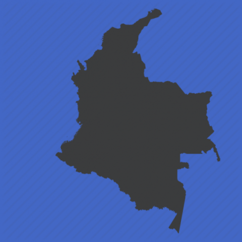 colombia map 0 Colombia Map