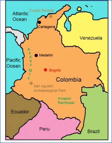 colombia map 13 Colombia Map