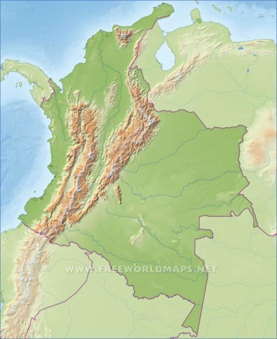 colombia map 14 Colombia Map