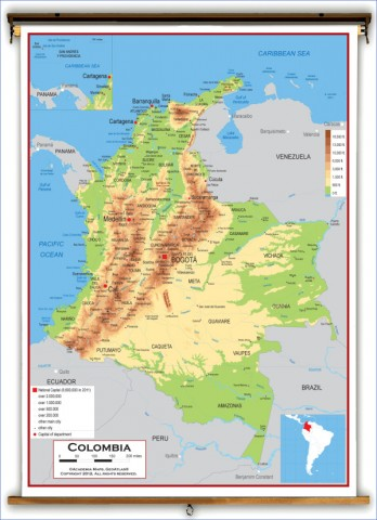 colombia map 16 Colombia Map
