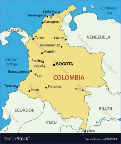 colombia map 2 Colombia Map