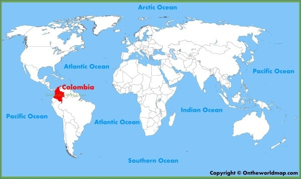 colombia map 5 Colombia Map