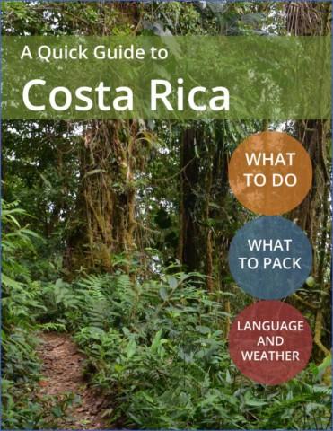 costa rica vacation guide 1 Costa Rica Vacation Guide