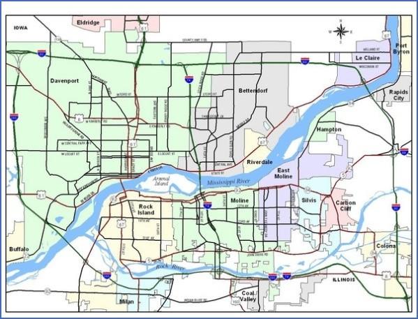 davenport map and guide 18 Davenport Map and Guide
