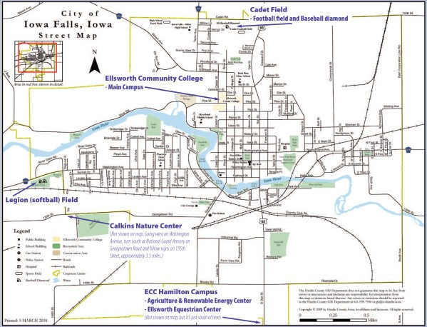 grinnell iowa map and guide 1 Grinnell, Iowa Map and Guide