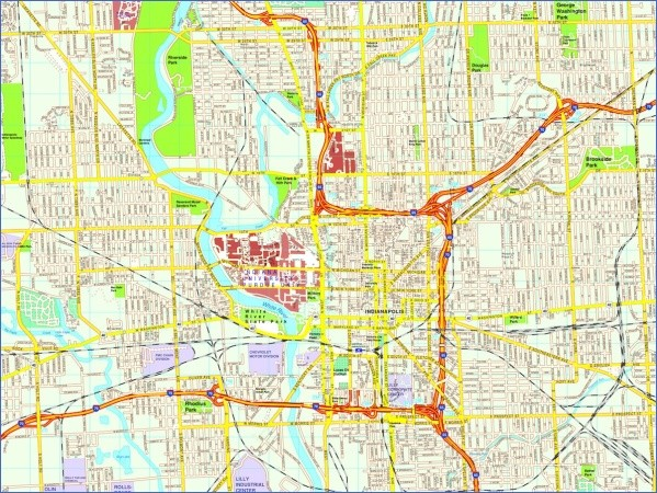 indianapolis map and guide 11 Indianapolis Map and Guide
