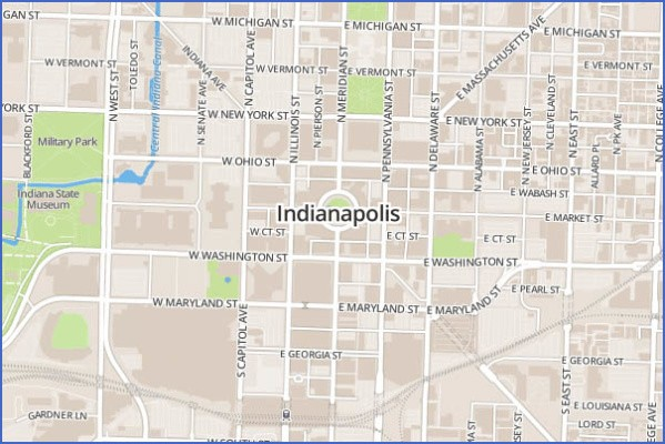 indianapolis map and guide 14 Indianapolis Map and Guide