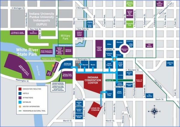 indianapolis map and guide 2 Indianapolis Map and Guide