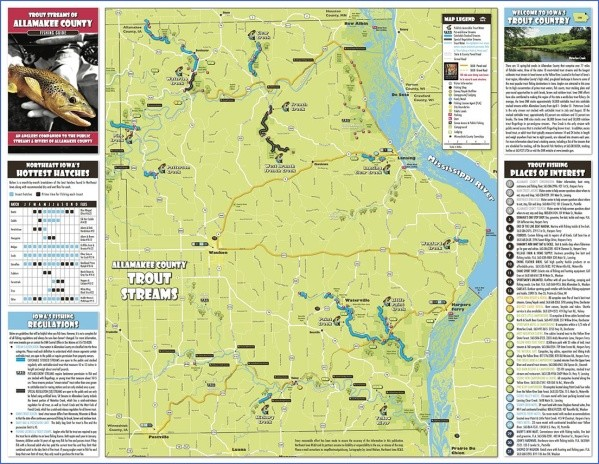 iowa map and guide 3 Iowa Map and Guide