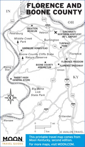 kentucky map and guide 13 Kentucky Map and Guide