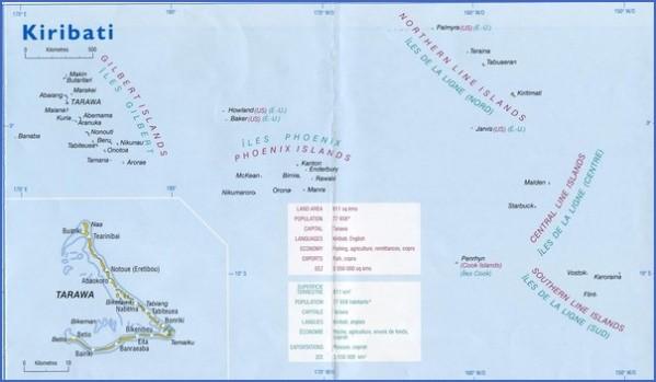 kiribati map 11 Kiribati Map