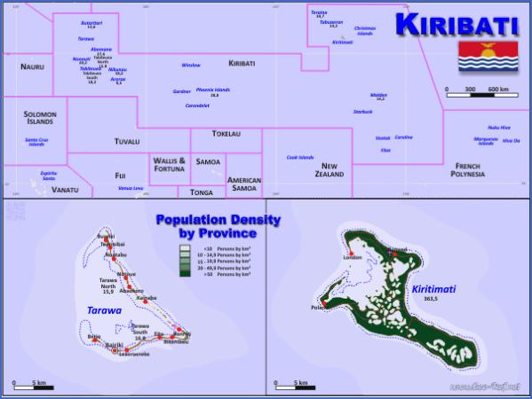 kiribati map 12 Kiribati Map