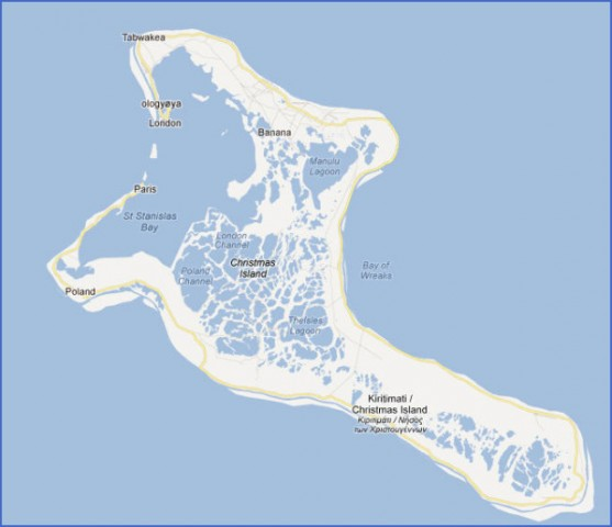 kiribati map 13 Kiribati Map