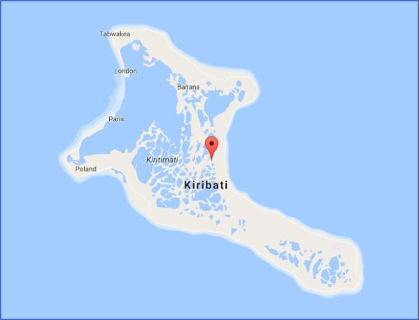 kiribati map 17 Kiribati Map
