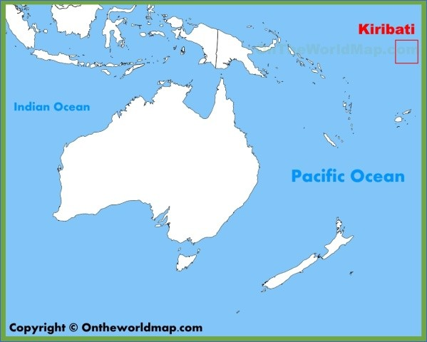 kiribati map 3 Kiribati Map