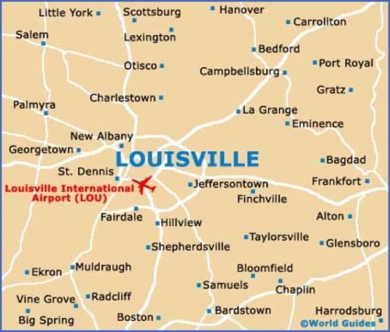 louisville map and guide 14 Louisville Map and Guide