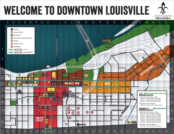 louisville map and guide 15 Louisville Map and Guide