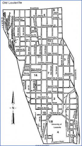 louisville map and guide 16 Louisville Map and Guide