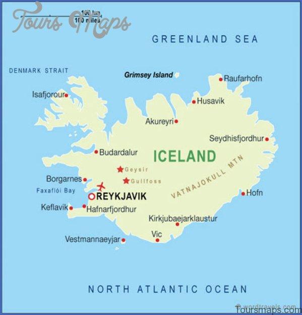 reykjavik iceland map 1 Reykjavik Iceland Map