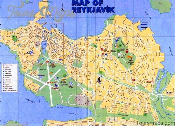 reykjavik iceland map 13 Reykjavik Iceland Map