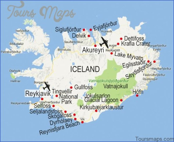 reykjavik iceland map 6 Reykjavik Iceland Map