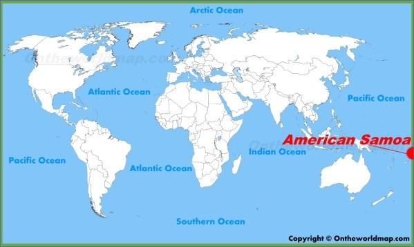 samoa map 3 Samoa Map