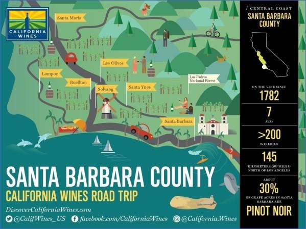 santa barbara map 11 Santa Barbara Map