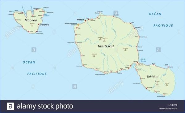 tahiti map 16 Tahiti Map