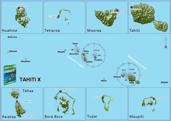 tahiti map 8 Tahiti Map