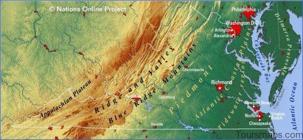 virginia map 10 Virginia Map