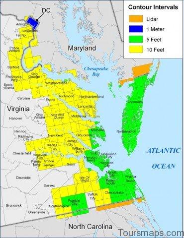 virginia map 14 Virginia Map