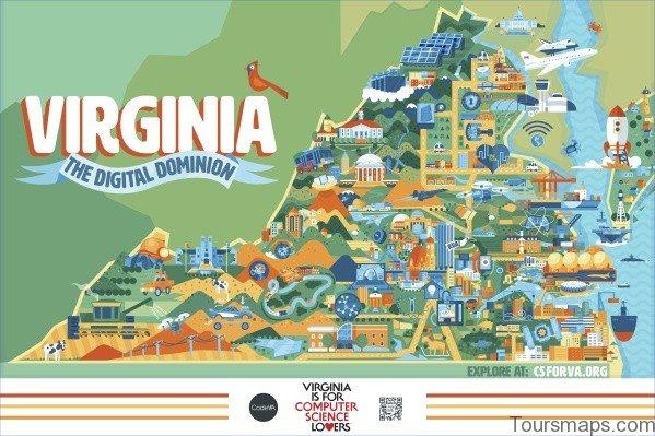 virginia map 17 Virginia Map