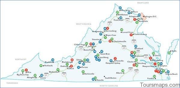 virginia map 7 Virginia Map
