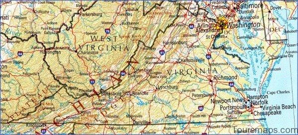 virginia map 8 Virginia Map