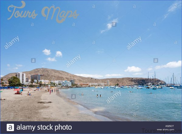 los cristianos tenerife spain tour of beach and resort 0 Los Cristianos Tenerife Spain Tour Of Beach And Resort