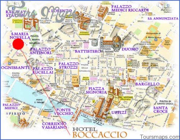 map of florence italy 2 Map of Florence Italy
