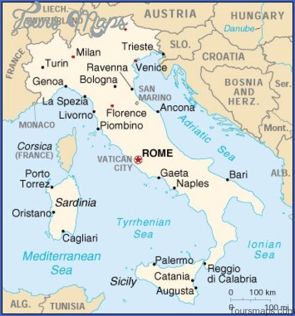 map of florence italy 5 Map of Florence Italy