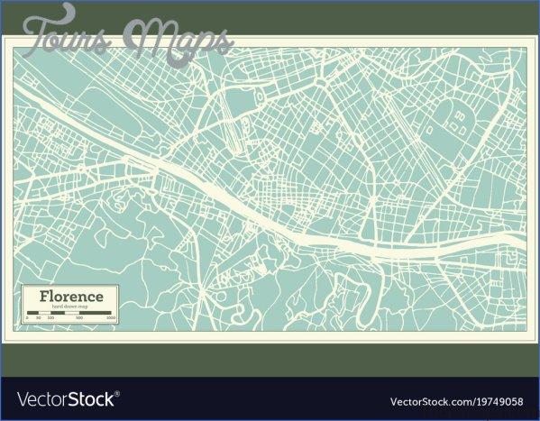map of florence italy 6 Map of Florence Italy
