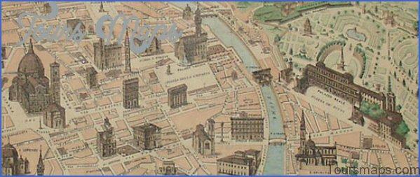 map of florence italy 9 Map of Florence Italy