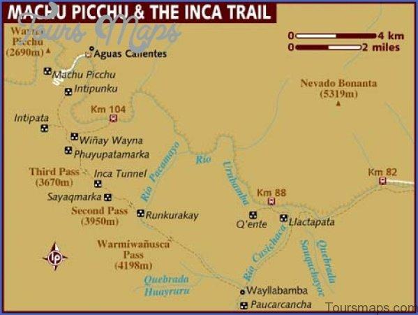 map of machu picchu peru 3 Map of Machu Picchu Peru