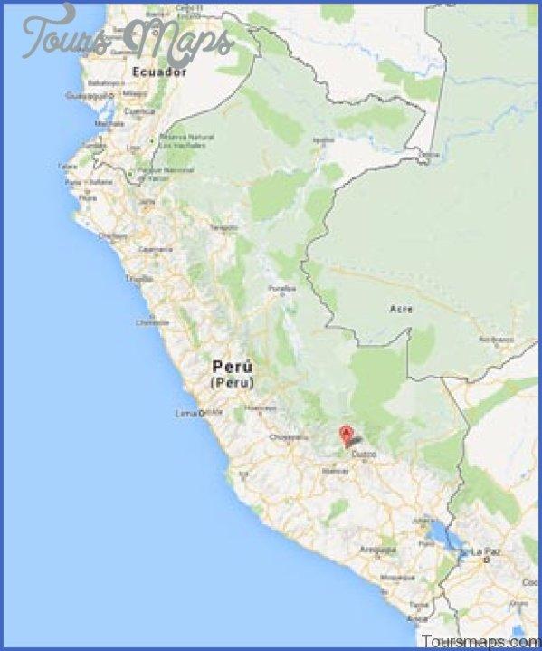 map of machu picchu peru 5 Map of Machu Picchu Peru