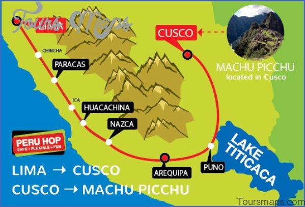 map of machu picchu peru 7 Map of Machu Picchu Peru