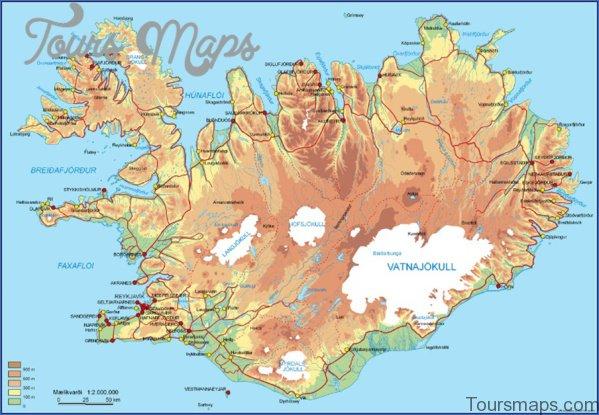 map of northern lights reykjavik 10 Map of Northern Lights Reykjavik