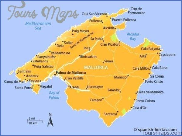 Map Of Spain And Mallorca.Top 10 Punto Medio Noticias Majorca Map Santa Ponsa